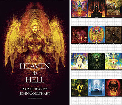 Heaven and Hell calendar