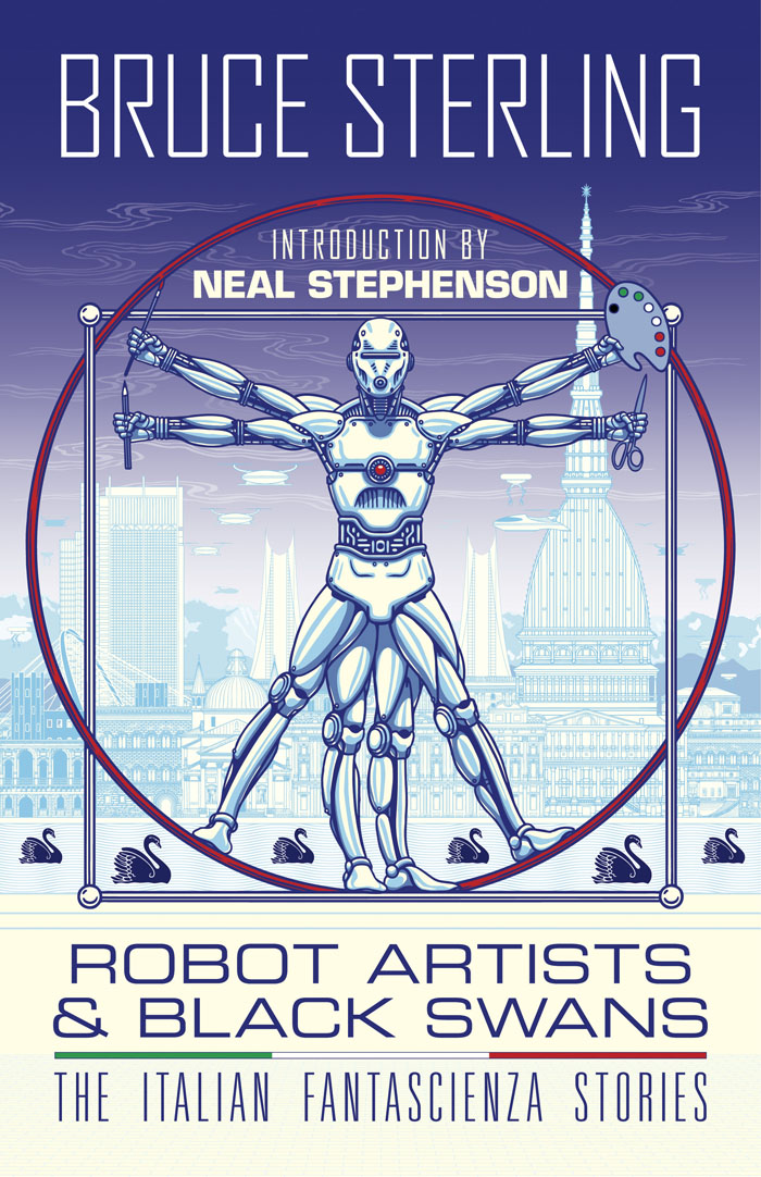 Robot Artists and Black Swans