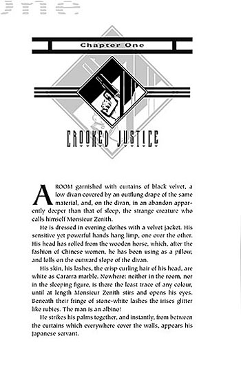 Monsieur Zenith the Albino